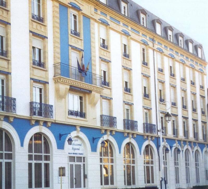 façade lycée