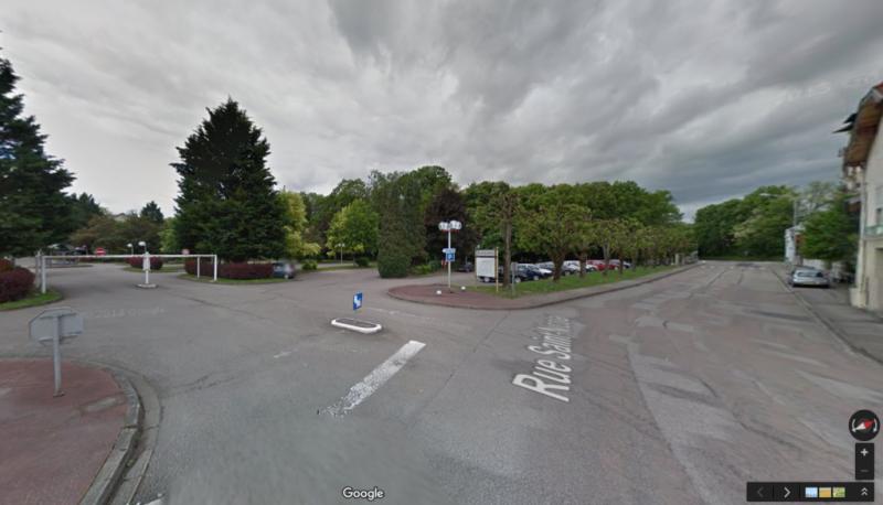 Entrée du parking Rue St Nicolas (Photo: Google maps)