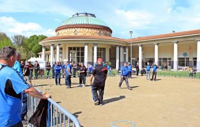 Image d'archives - Concours départemental de pétanque à Contrexéville - mai 2016.
