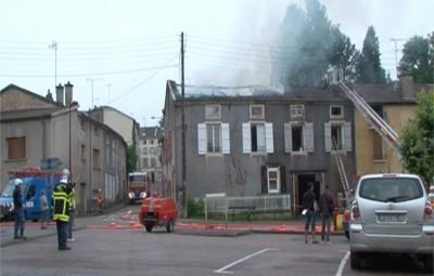 Incendie Mirecourt