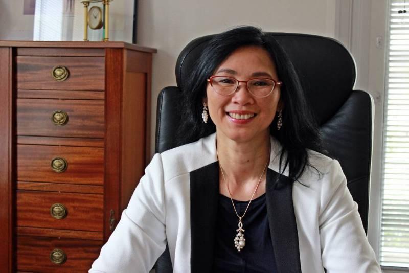 Jeanne Vo Huu Lê, nouvelle sous-préfète de Neufchâteau.