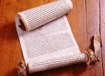 Rotulus mentionnant la donation du pont de pierre. vers 1028-1039. Bibliothèque municipale d'Angers, cartulaire du Ronceray, ms 848 A (760)