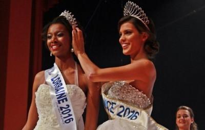 (Justine Kamara élue Miss Lorraine 2016 à Vittel)