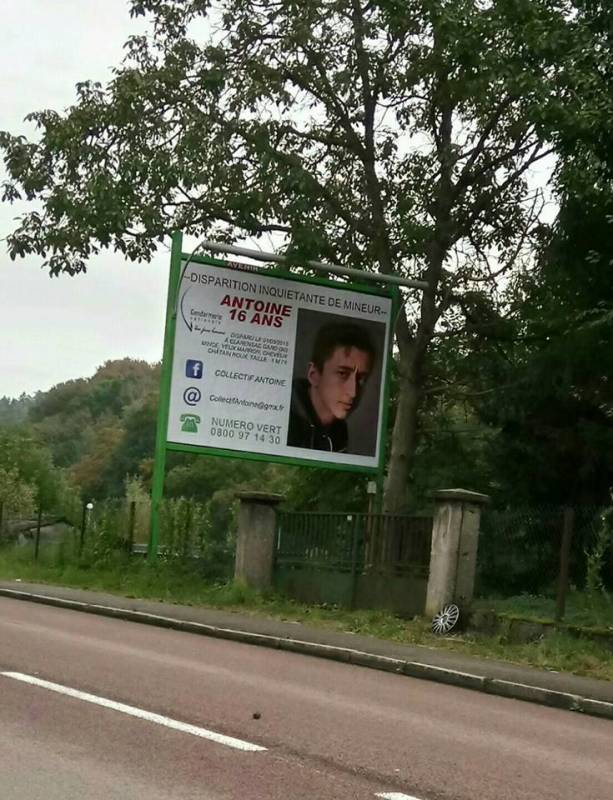Des panneaux ont été installés dans les Vosges
