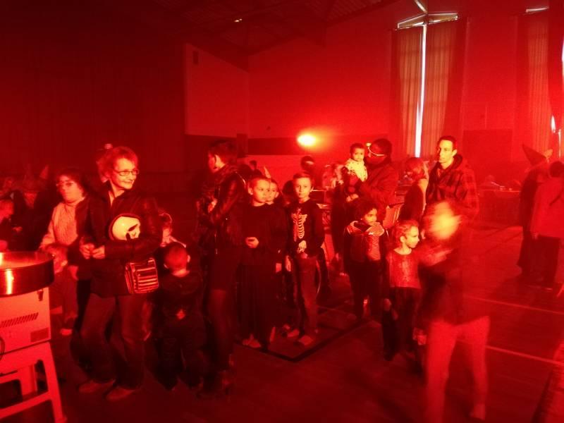 Une digne ambiance de Halloween régnait à l'Espace Flambeau.
