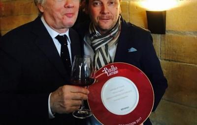 Olivier Lapôtre à droite en compagnie de Gilles pudlowski