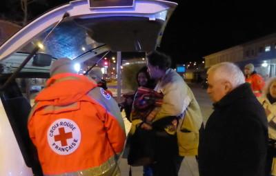 Des maraudes ont lieu à Epinal. La Croix-Rouge vient en aide aux plus démunis.