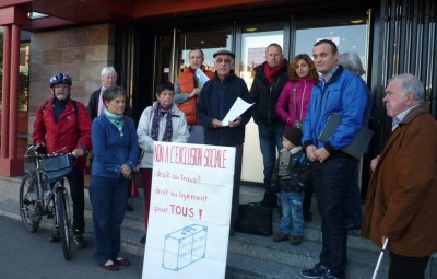 Le collectif des sans papiers (Photo d'archives)