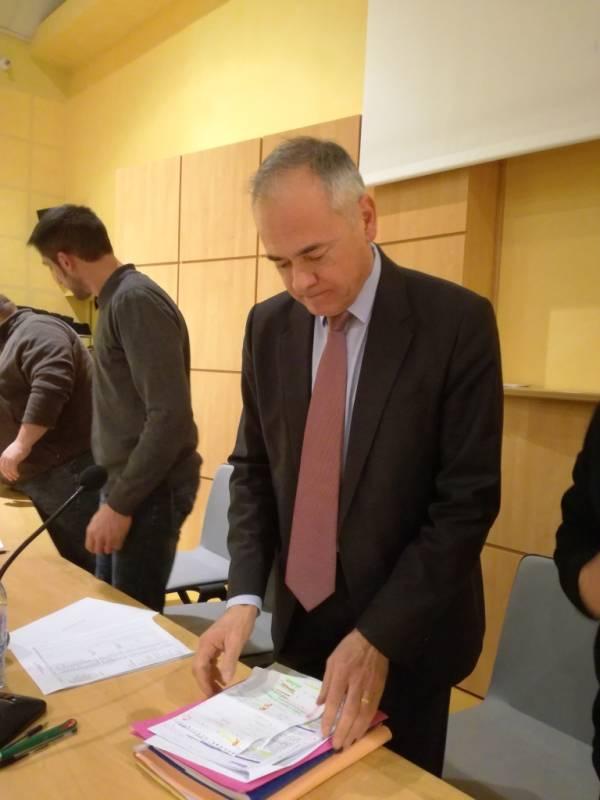Jean-Jacques Gaultier, président de la ComCom Terre d'Eau.