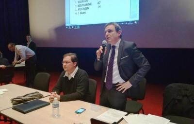 Yves Séjourné, Président de la communauté de communes Mirecours - Dompaire