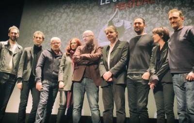 Le jury longs-métrages au grand complet – photo B.P
