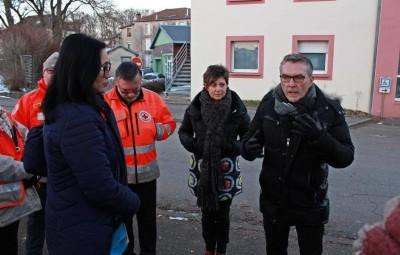 Jeanne Vo Huu Lê, Jean-Louis Daoulas, Muriel Rol et Alain Mougenel.