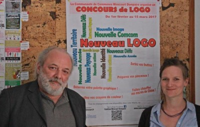 François Martin et Sophie Antoine.