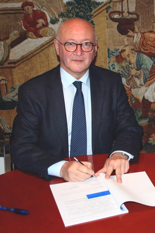 Luc Gerecke, signature contrat saisonnier