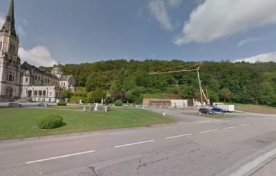 Capture d'écran - Google Maps - Juillet 2016, débuté des travaux du nouveau restaurant.