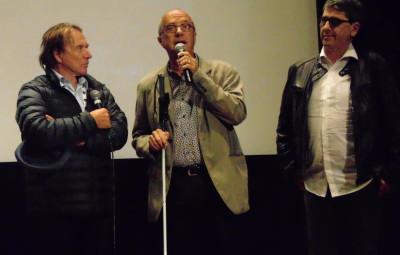 René Letzgus, Gérard Muller et François Orsat, président de l'association « Yvoir »
