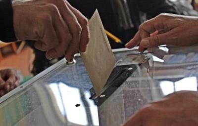 Bureaux de vote à Vittel.