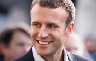 (photographie compte Twitter Emmanuel Macron)