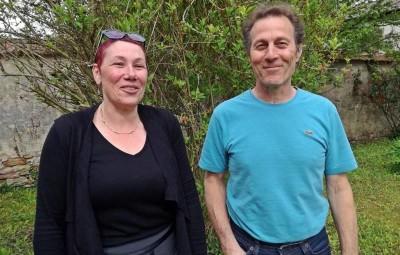 Corinne Somny, présidente et Jean-Jacques Dubuc.