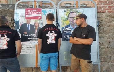 (photographies FB Jeunes agriculteurs des Vosges syndicat)