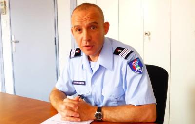 Le Colonel Sacha Demierre, le nouveau directeur du SDIS des Vosges