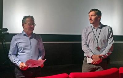 Arnaud Toussaint, Cinés Palace d'Epinal et Denis Blum, Boîte à Films.