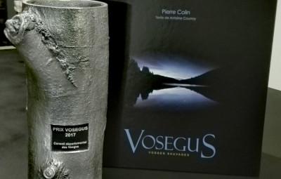 Le trophée Vosegus est à découvrir à la Bibliothèque