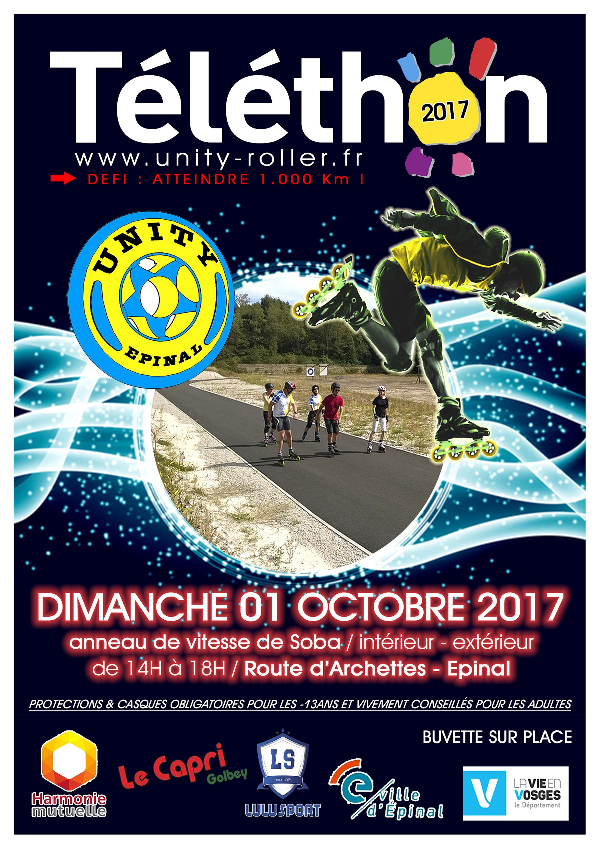 Affiche-Téléthon-Unity-Roller20171