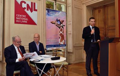 Lors du lancement de l'édition 2017 à Paris