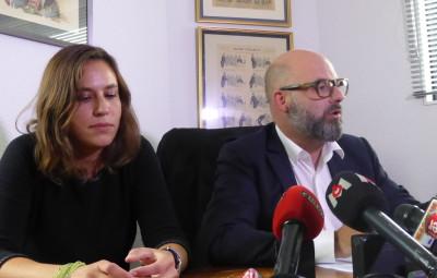 Maîtres Stéphane Giuranna et Laure Iogna-Prat, les avocats de Marcel Jacob