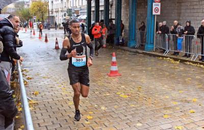 Mohamed Moussaoui, vainqueur de l'épreuve.