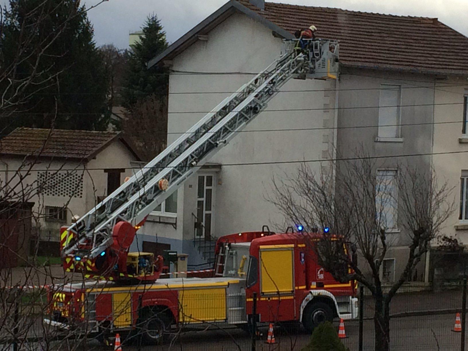 De nombreuses interventions des pompiers (photographie pompiers des Vosges)