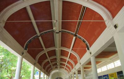 La troisième tranche des travaux de rénovation de la galerie thermale va débuter en septembre, pour se finir en mai 2019.