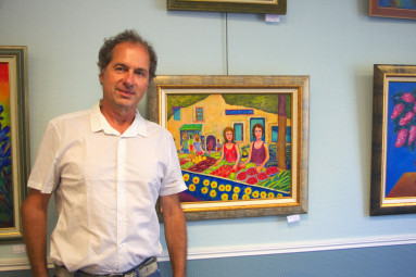 Joël Jeanniot expose ses œuvres jusqu'à ce mercredi 8 août.