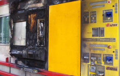 Les dégâts montrent bien l'ampleur de l'incendie.