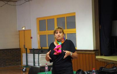 Caroline Mattioni, vice-présidente du département, en charge de l'autonomie.