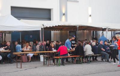 Carton plein du côté de la restauration pour cette première fête du Vieux Vittel.