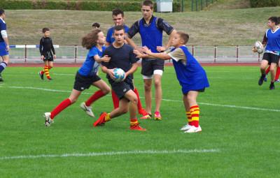 Les jeunes s'initient au rugby (4)