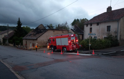 Les pompiers de Coussey sont intervenus.