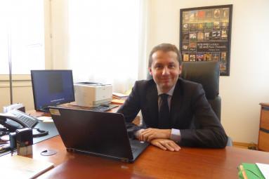 Nicolas Heitz, procureur de la République d'Epinal.