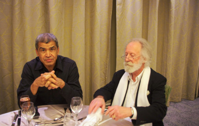 Daniel Picouly (à g.) et Gilles Laporte.