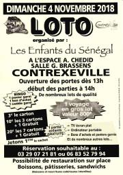 Loto enfants du Sénégal (04.11.2018)