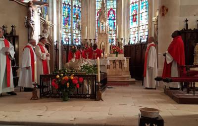Célébration de Saint-Elophe.
