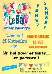 Affiche bal à Monthureux-le-Sec