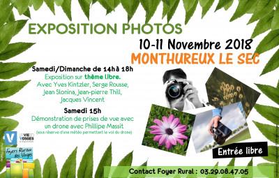 Affiche expo photos Monthureux