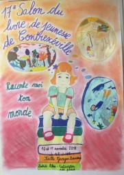 Affiche salon du livre de jeunesse