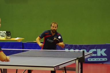 Benjamin Meyran était au rendez-vous en remportant deux simples et le double avec Arnaud Milliotte.
