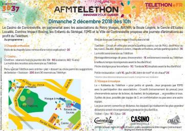 Flyer Téléthon Contrex