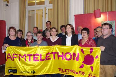 Le casino en partenariat avec la Ville et certaines associations, se mobilient pour le Téléthon.