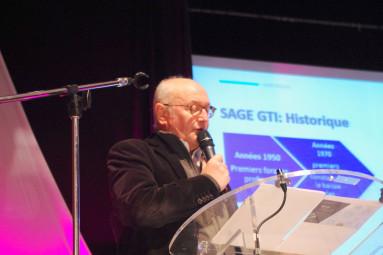 Luc Gerecke (Conseil départemental et maire de Contrexéville).